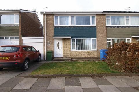 3 bedroom semi-detached house for sale - Crookham Way, Cramlington