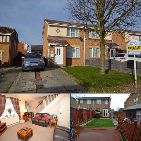 2 bedroom semi-detached house for sale - Aysgarth Rise, Bridlington, East Yorkshire, YO16