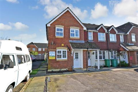 2 bedroom end of terrace house for sale - Vickers Close, Hawkinge, Folkestone, Kent