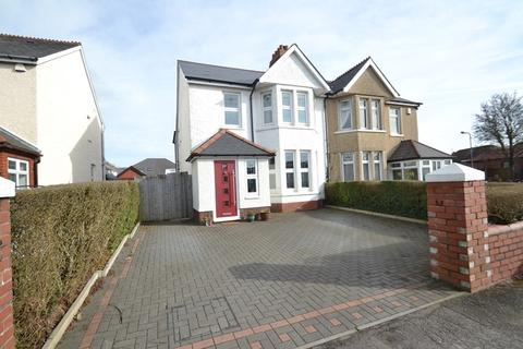 4 bedroom semi-detached house for sale - Pantbach Road, Rhiwbina, Cardiff