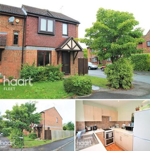 2 bedroom end of terrace house to rent - Ancells Farm