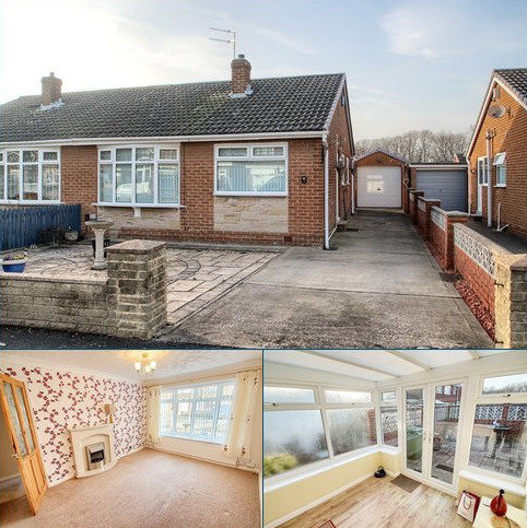 2 bedroom semi-detached bungalow for sale - Charrington Avenue, Thornaby