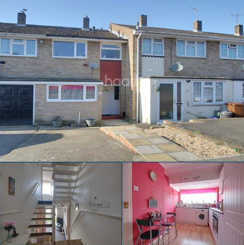 4 bedroom terraced house for sale - Harptree Drive, Walderslade, Kent, ME5