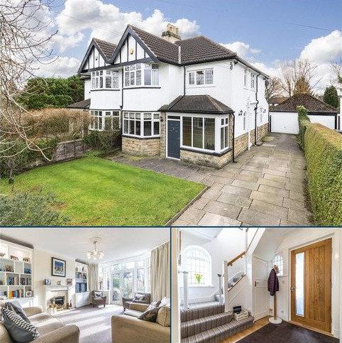 3 bedroom semi-detached house for sale - Alwoodley Lane, Leeds, West Yorkshire