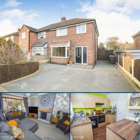 3 bedroom semi-detached house for sale - Crosby Avenue, Bramley