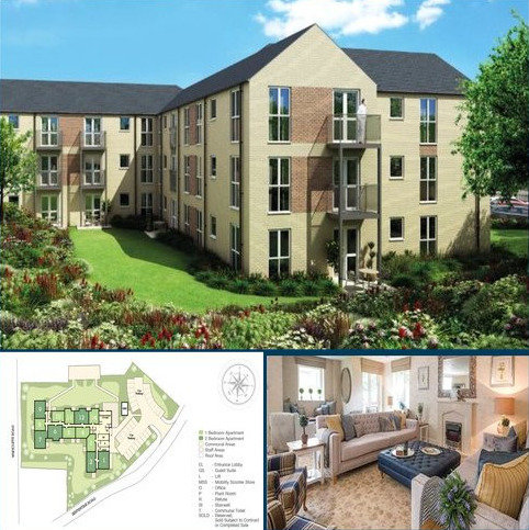 1 bedroom apartment for sale - Brooke Dene Court, 38 Serpentine Road, Cleckheaton, West Yorkshire, BD19