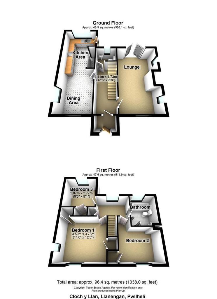 Floorplan 1 of 2: Cloch y Llan, Llanengan, Pwllheli.jpg