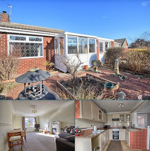 2 bedroom semi-detached bungalow for sale - Dudley Walk, Redcar