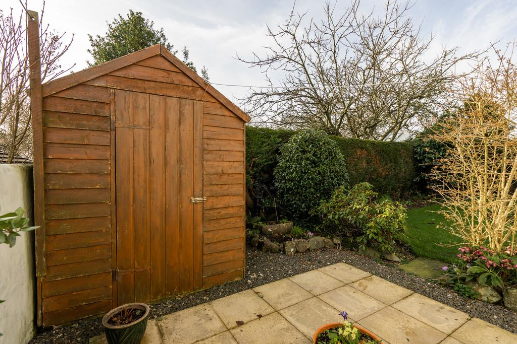 Patio and Shed