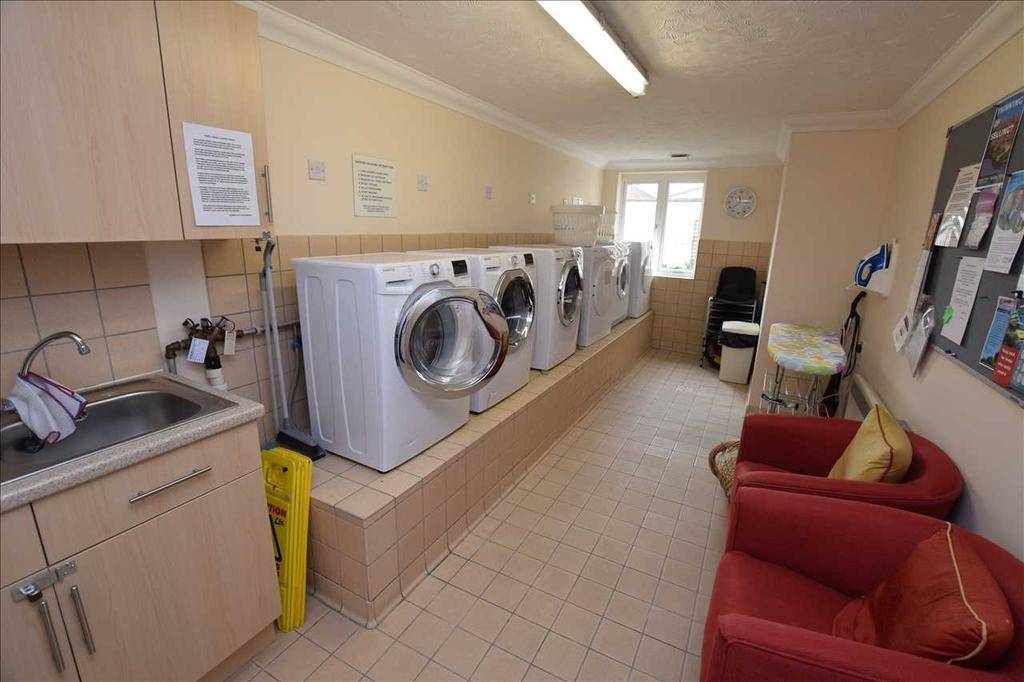 Communal laundry facilities