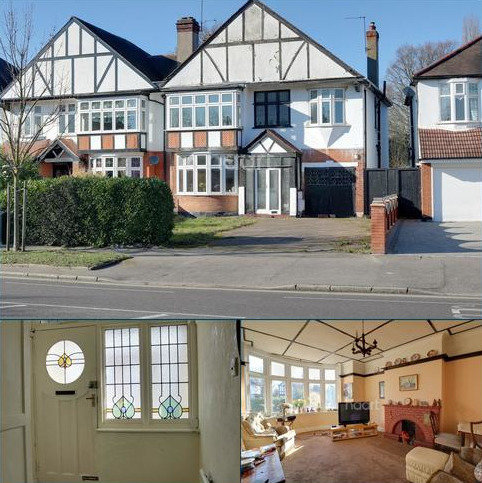 4 bedroom semi-detached house for sale - Main Road, Gidea Park, Romford, RM2