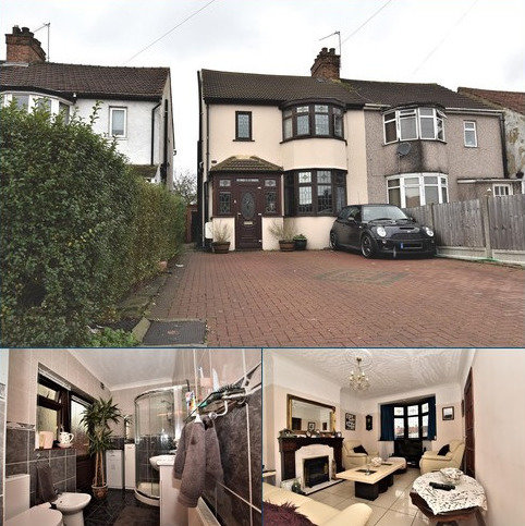 3 bedroom semi-detached house for sale - Straight Road, Harold Hill, Romford, RM3