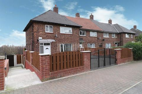 3 bedroom end of terrace house for sale - Harborough Avenue, Manor Park, Sheffield, S2