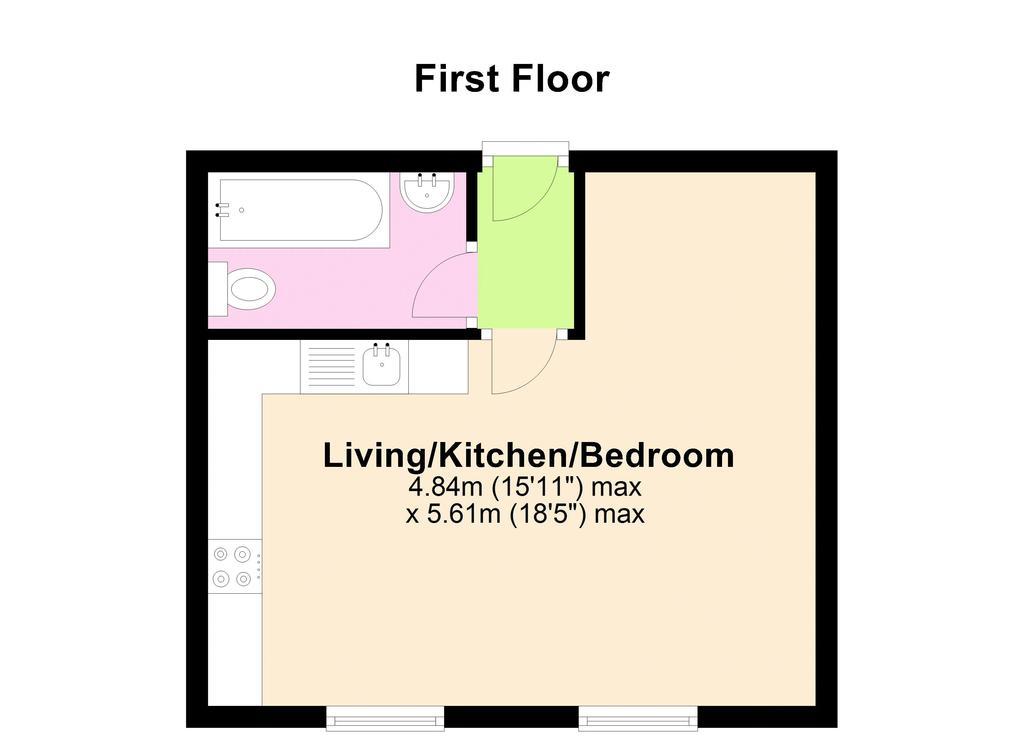 Floorplan 1 of 2: 2 D Floorplan