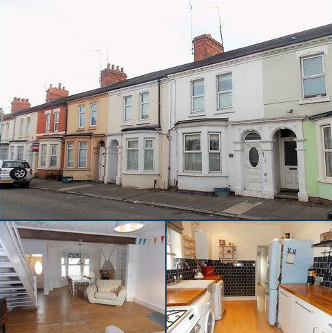 3 bedroom terraced house to rent - Newcombe Road, St James, Northampton