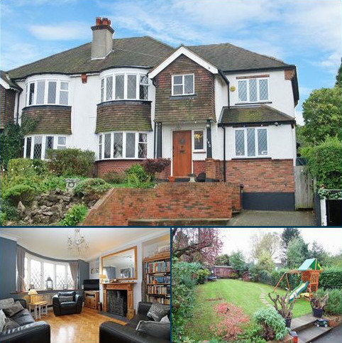 5 bedroom semi-detached house for sale - Purley Downs Road, Sanderstead, Surrey