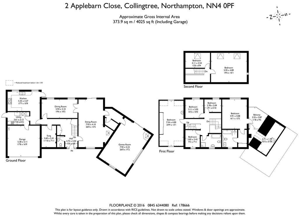 Floorplan: 2 Applebarn Close 178666 fp A4 Landscape.jpg