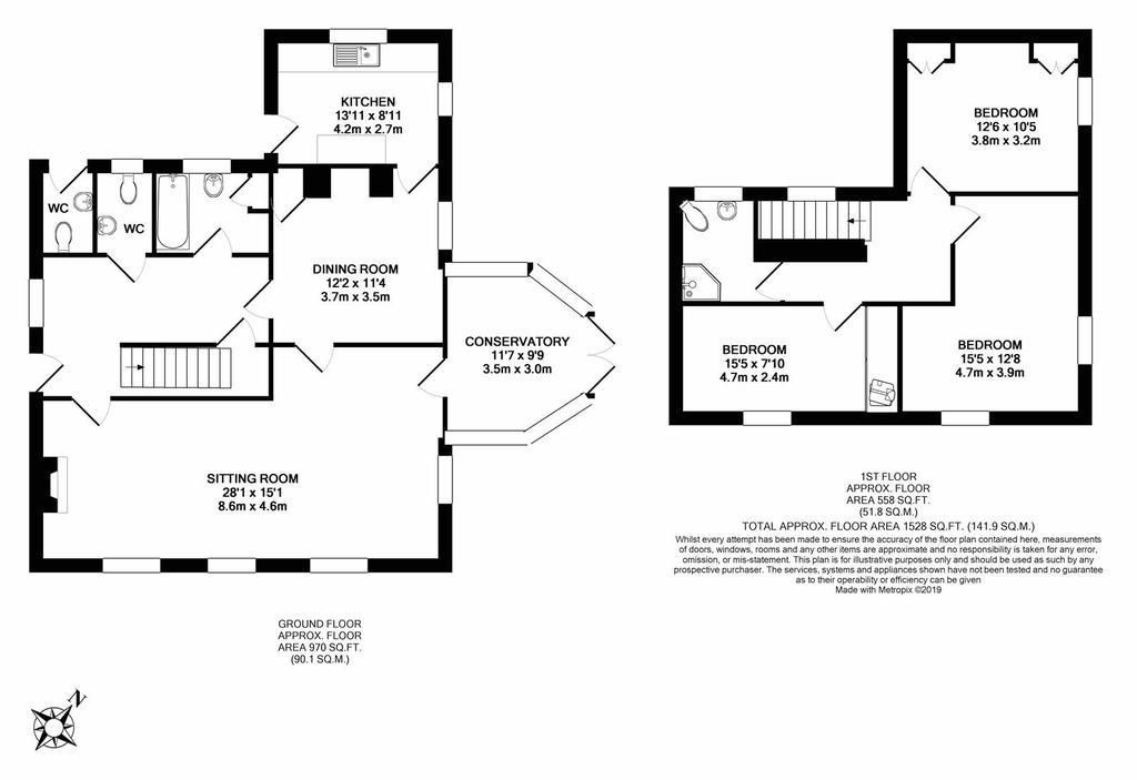 Floorplan: Bosvean House Floorplan.JPG