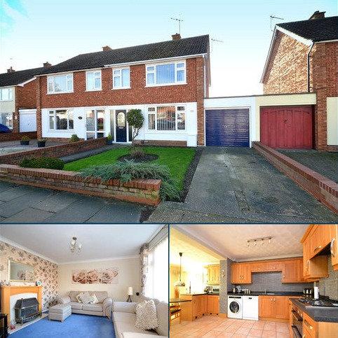 3 bedroom semi-detached house for sale - Defoe Road, Ipswich, IP1 6SD