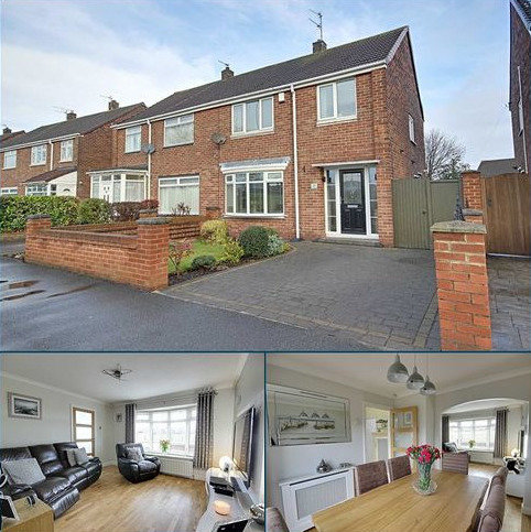 3 bedroom semi-detached house for sale - Temple Park Road, South Shields, Tyne And Wear