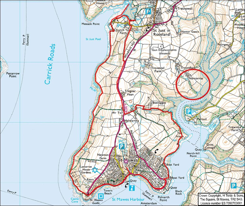 Floorplan 3 of 3: Location Map