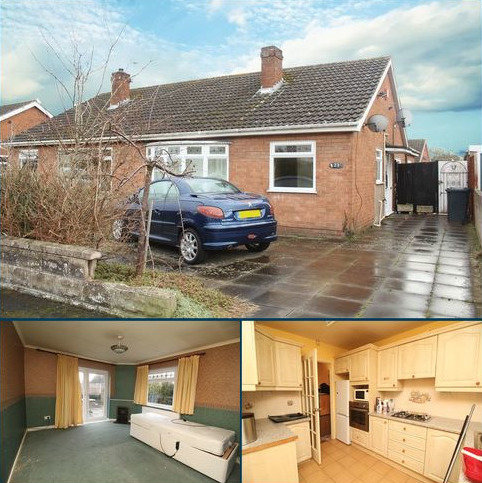 2 bedroom semi-detached bungalow for sale - Leamore Crescent, Belle Vue, Shrewsbury, SY3 7QB