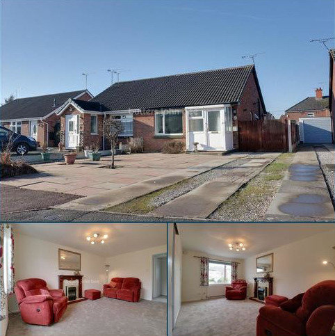 2 bedroom bungalow for sale - Seaton Close, Crewe