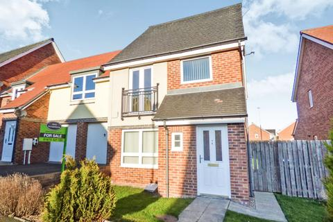 3 bedroom semi-detached house for sale - Howard Walk, Ashington, Northumberland, NE63 9FP