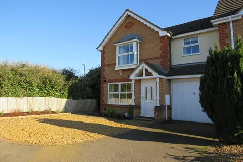 3 bedroom semi-detached house for sale - Butts Croft Close, East Hunsbury, Northampton, NN4