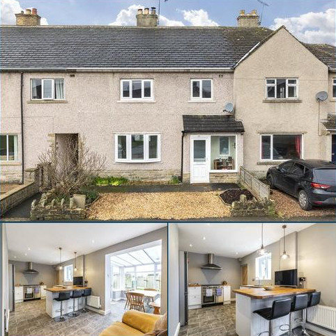3 bedroom terraced house for sale - Smithycroft Road, Gargrave, Skipton, North Yorkshire