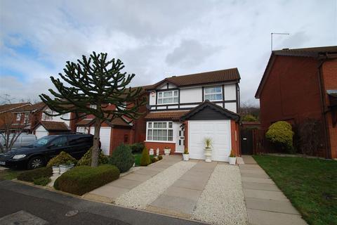 3 bedroom detached house for sale - Peppercorn Way, East Hunsbury, Northampton
