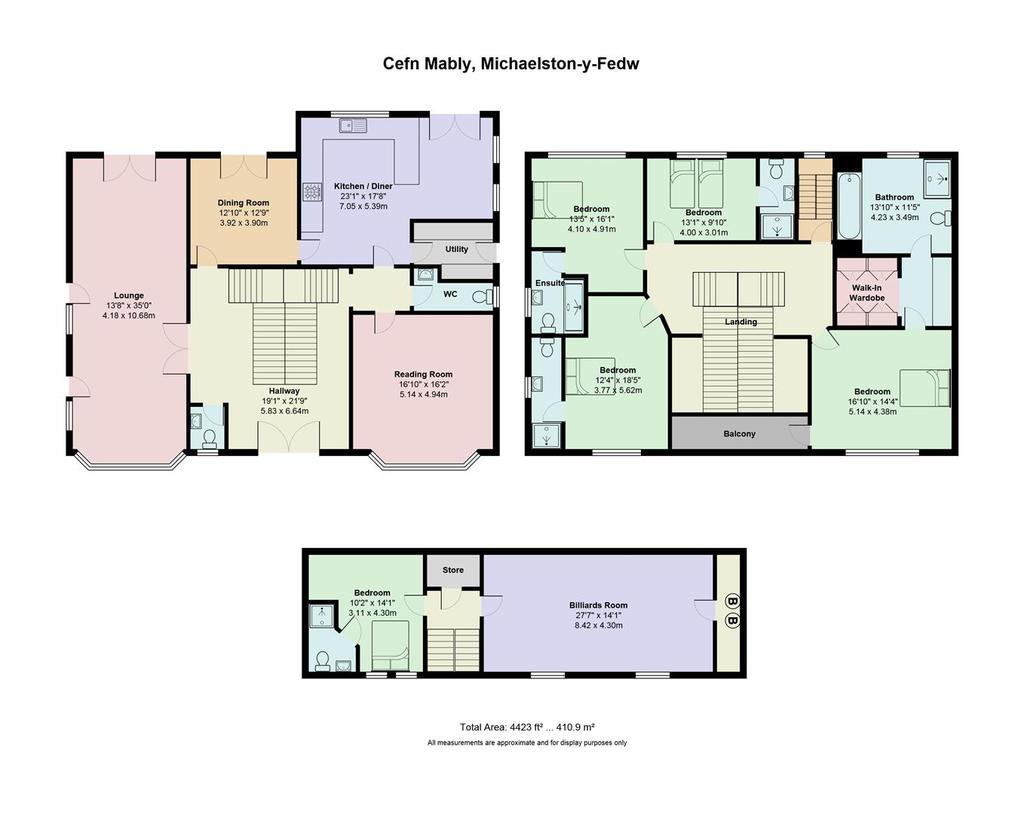 Floorplan: Mably House, Cefn Mably.jpg