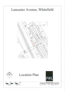 Land for sale - Lancaster Avenue, Whitefield, Manchester, Greater Manchester, M45