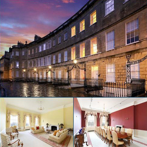 5 bedroom terraced house for sale - Lansdown Crescent, Bath, Somerset, BA1