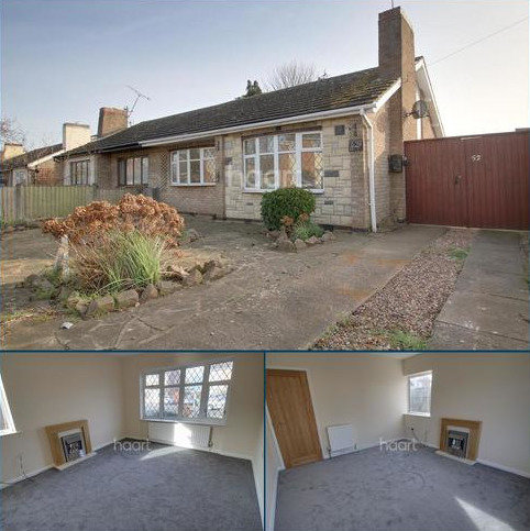 2 bedroom bungalow for sale - Broadmead Road, Blaby, Leicestershire