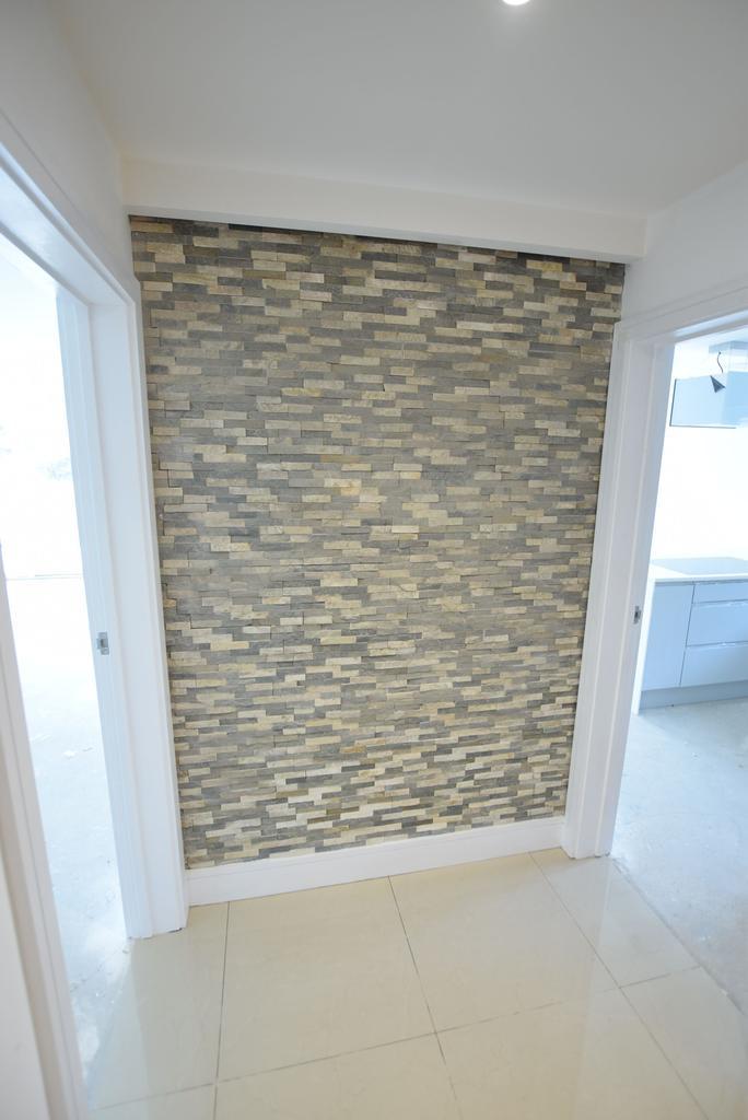 Hallway feature wall