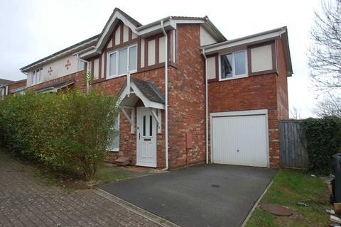 3 bedroom semi-detached house to rent - Woburn Close, Paignton