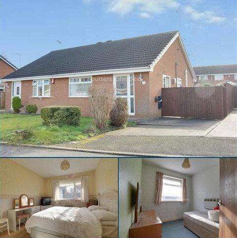 2 bedroom bungalow for sale - Somerley Close, Crewe