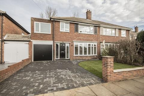 4 bedroom semi-detached house for sale - 18 Thropton Crescent Regent Farm, Gosforth,