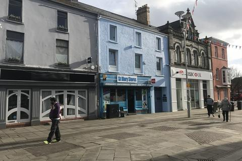 Retail property (high street) to rent - St. Mary Stores, Fully Fitted Out 'Corner Shop', 11 Dunraven Place, Bridgend, CF31 1JF