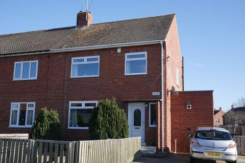 3 bedroom semi-detached house to rent - Hall Lane Estate, Crook