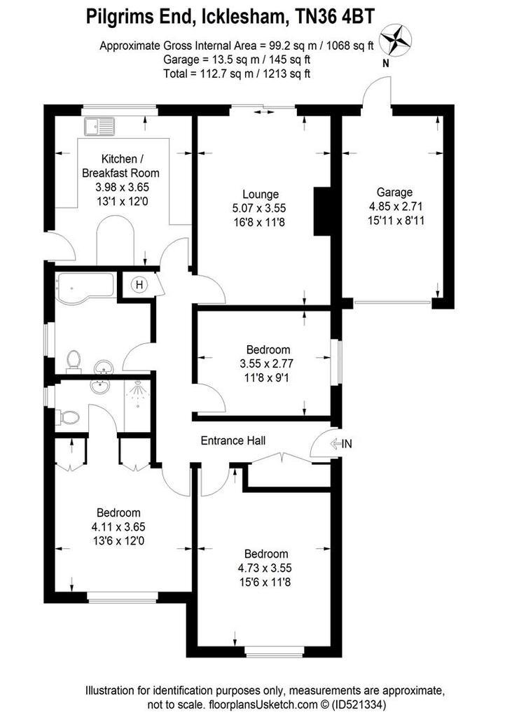 Floorplan: Pilgrims end floor plan.jpg
