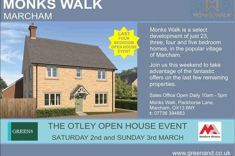 4 bedroom detached house for sale - The Otley, Monks Walk, Packhorse Lane, Marcham OX13 6GG