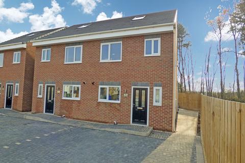 3 bedroom semi-detached house for sale - Elizabeth Street, Cramlington, Northumberland, NE23 6XJ