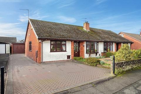 3 bedroom semi-detached bungalow for sale - Henley Avenue, Knypersley