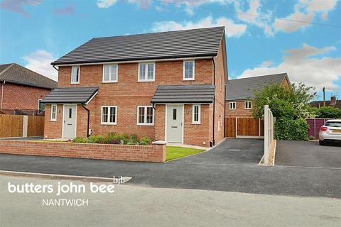 2 bedroom semi-detached house for sale - Gerard Drive, Nantwich