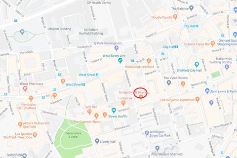 Land to rent - Smithfield Car Park, Rockingham Street, Sheffield S1