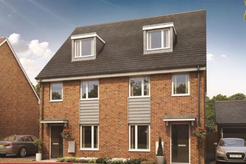 3 bedroom semi-detached house for sale - Longhorn Drive, West Milton Keynes, Milton Keynes MK8
