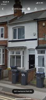 2 bedroom terraced house to rent - Harbourne Park Road, Birmingham  B17