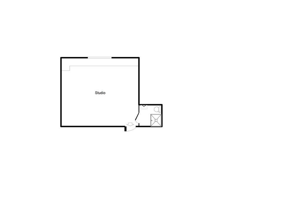 Floorplan: Studio Plan